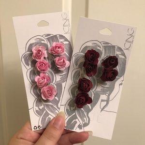 Rose hair accessories!
